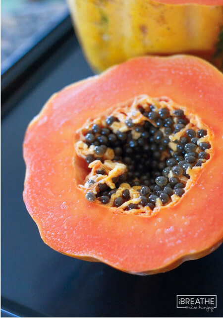 Papaya seeds are effective in killing and eliminating parasites!