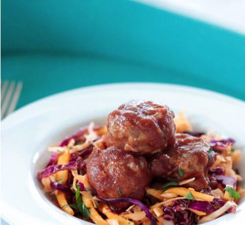 These are the best Whole 30 BBQ Chicken Meatballs out there! Healthy and delicious, you can eat them guilt free!! Paleo