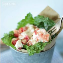 BLT Lobster Roll Salad – Low Carb & Paleo