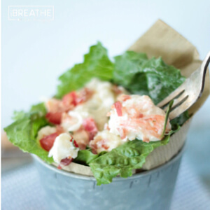 A lobster salad recipe for low carb and whole 30 by Mellissa Sevigny