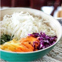 A whole 30 slaw recipe from Mellissa Sevigny of I Breathe Im Hungry