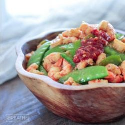 Low Carb Shrimp & Snow Peas