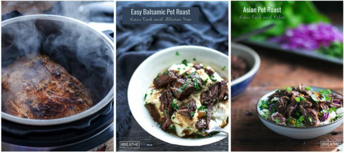 Three of my favorite low carb instant pot recipes!