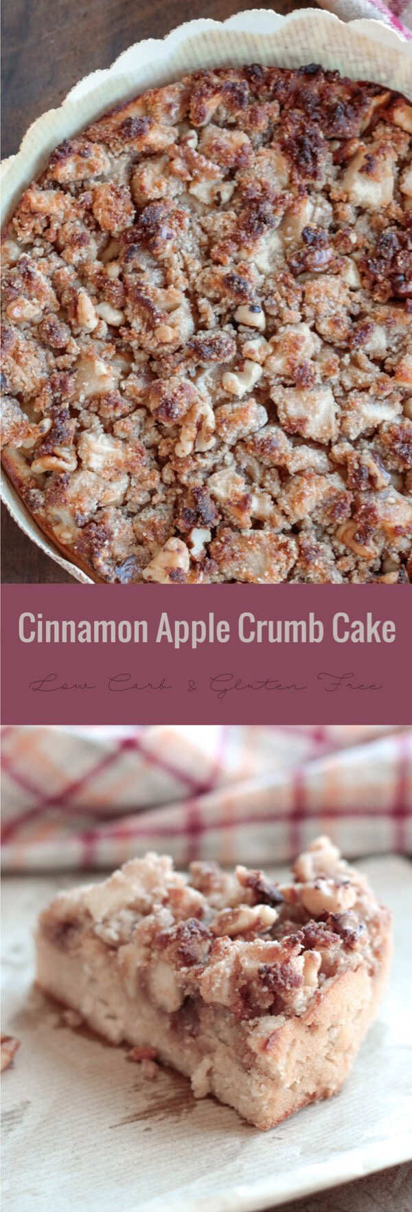 delicious Cinnamon Apple Crumb Cake or Coffee Cake - perfect for ...