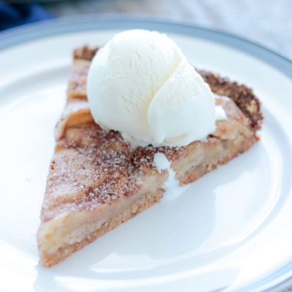 keto diet crustless apple pie