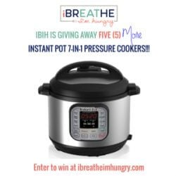 Instant Pot Giveaway November