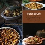 10 best low carb stuffing recipes from Mellissa Sevigny of I Breathe Im Hungry