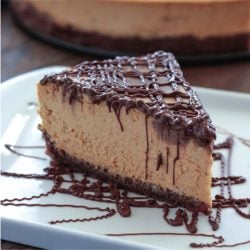 Pumpkin Chocolate Marbled Cheesecake – Low Carb