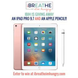 Ipad Pro & Apple Pencil Giveaway
