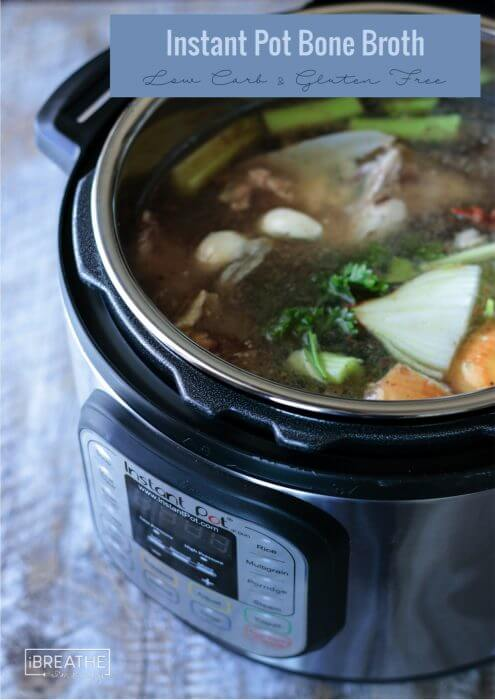 How To Make Low Carb Bone Broth In An Instant Pot