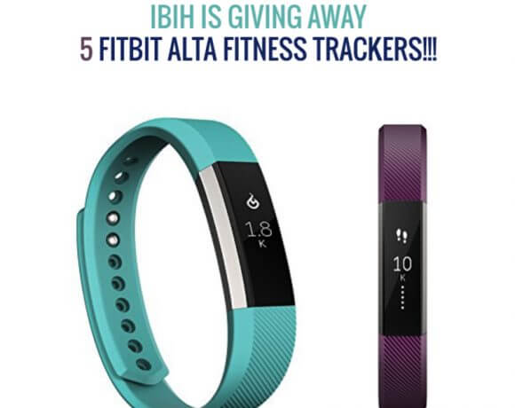 IBIH Fitbit Alta Fitness Tracker Giveaway!