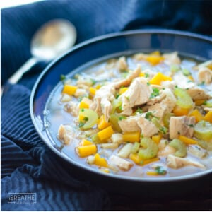 Easy Low Carb Chicken Soup – Whole 30