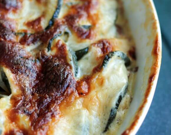 Easy Cheesy Zucchini Gratin – Low Carb & Keto