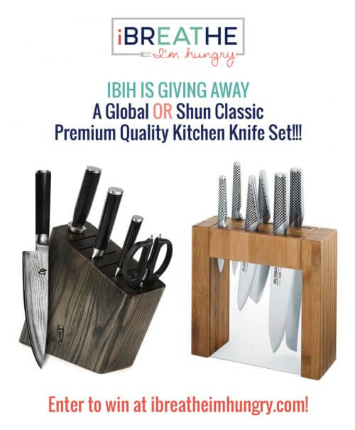 IBIH is giving away a set of premium kitchen knives!!!