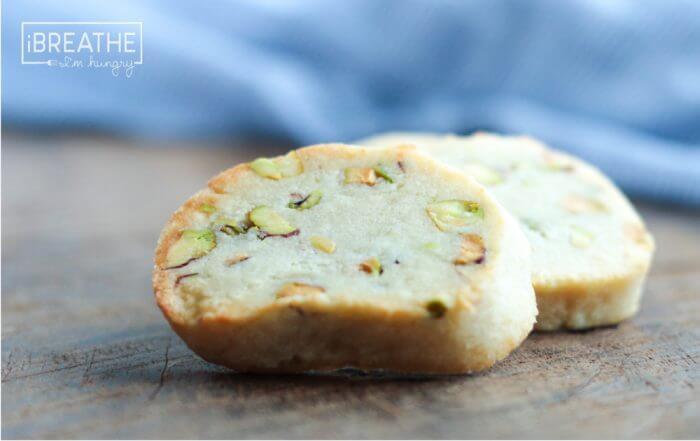 Easy Keto Pistachio Shortbread Cookies!