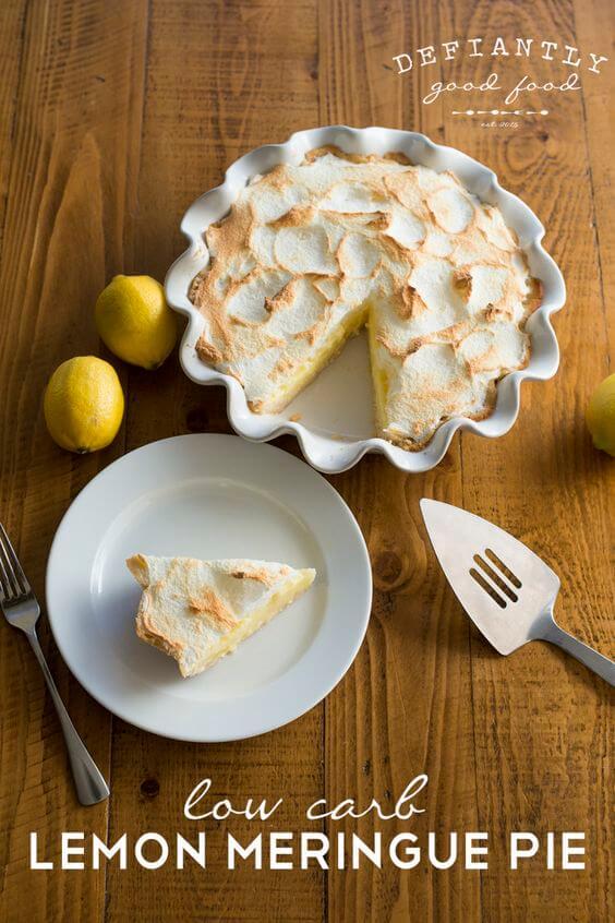 58 Best Low Carb Lemon Desserts