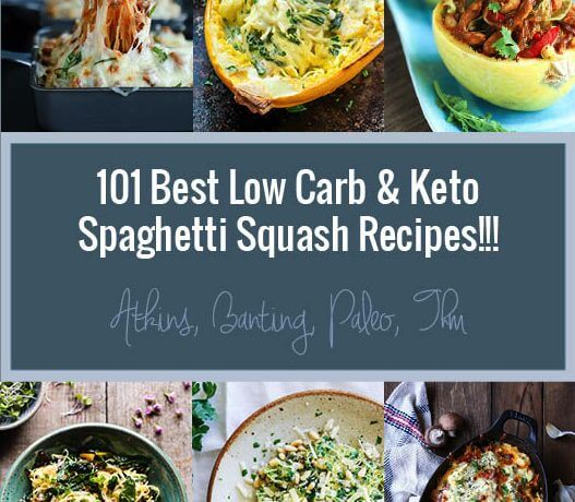 101 Best Keto Spaghetti Squash Recipes – Low Carb