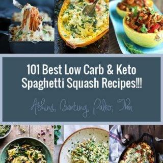 101 Best Keto Spaghetti Squash Recipes Low Carb