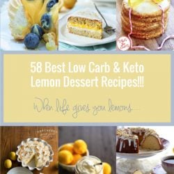 The 58 best low carb and keto lemon dessert recipes
