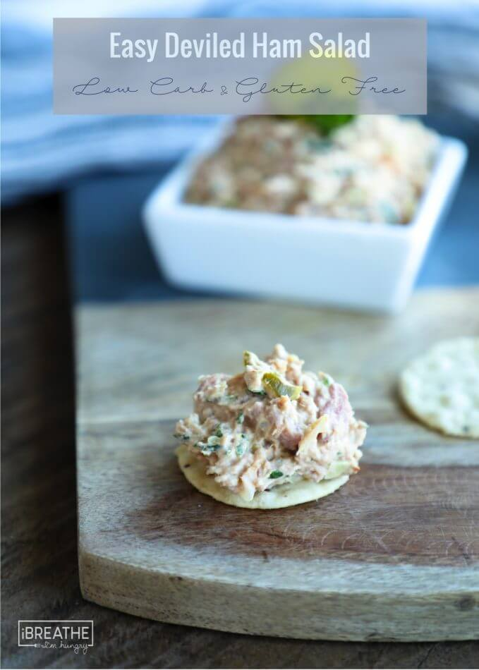 Easy Deviled Ham Salad - Low Carb & Keto friendly!
