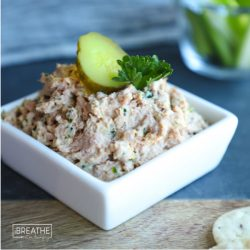 A keto deviled ham salad recipe by Mellissa Sevigny of I Breathe Im Hungry