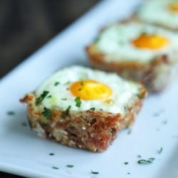 Cheesy Ham Hash Egg Cups – Low Carb & Keto