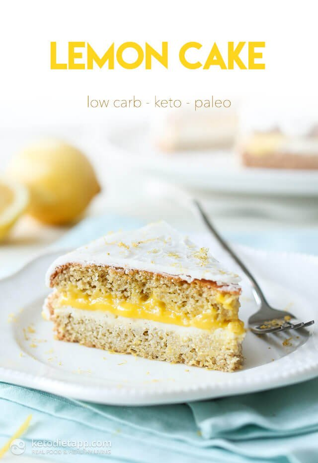 Healthy Lemon Coconut Cake