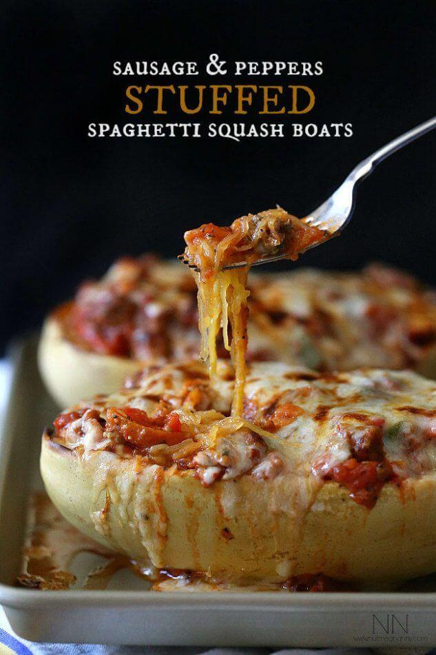 101 Best Low Carb & Keto Spaghetti Squash Recipes 1