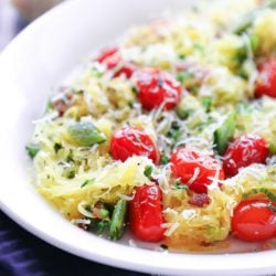A keto spaghetti squash recipe from Mellissa Sevigny of I Breathe Im Hungry