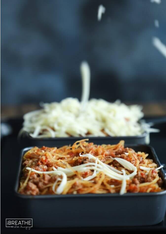 Cheesy Spaghetti Squash Skillet Keto Amp Low Carb I