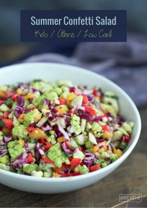 75 Best Keto Summer Salad Recipes - Low Carb | I Breathe I ...