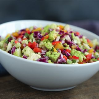 A perfect low carb summer confetti salad for all your BBQ's and parties!