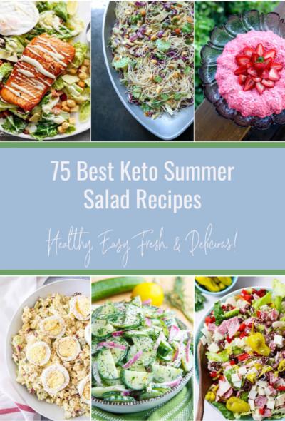 75 Best Keto Summer Salads