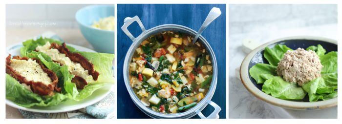 A free 5 Day Soup Diet plan with shopping lists!