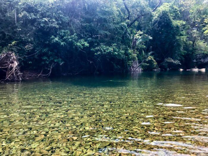 Cavetubing in Belize 2