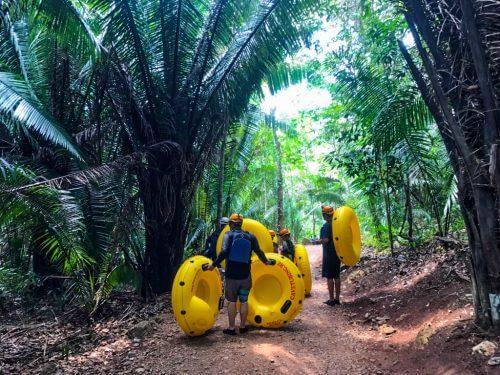 Cavetubing in Belize 9