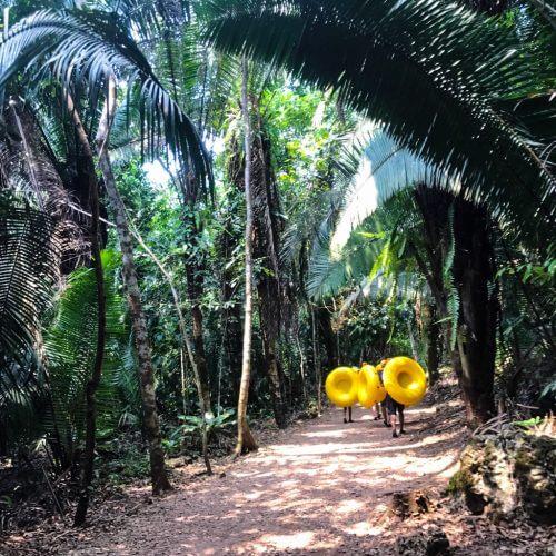 Cavetubing in Belize 8