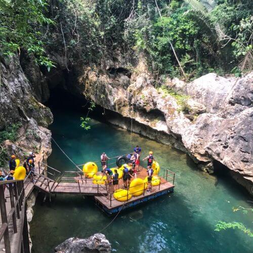 Cavetubing in Belize 7