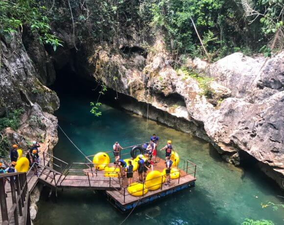 A post about cave tubing in Belize by Mellissa Sevigny of I Breathe Im Hungry