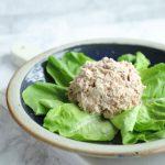 An easy keto tuna salad recipe by Mellissa Sevigny of I Breathe Im Hungry