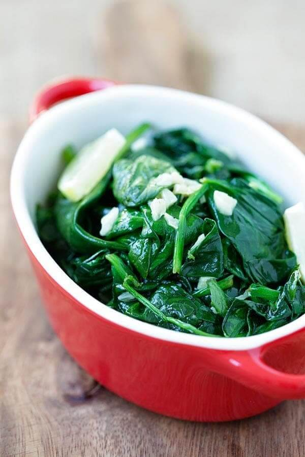 Best Keto Side Dishes with Spinach