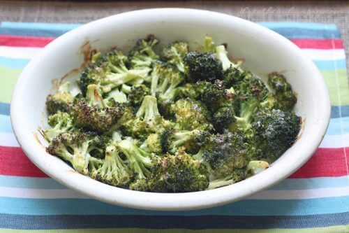 Cheesy Ranch Roasted Broccoli – Low Carb and Gluten Free