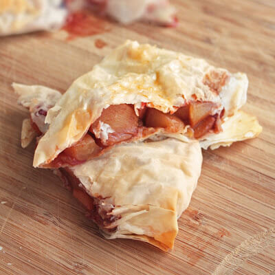 Fun with Phyllo Series – Plums