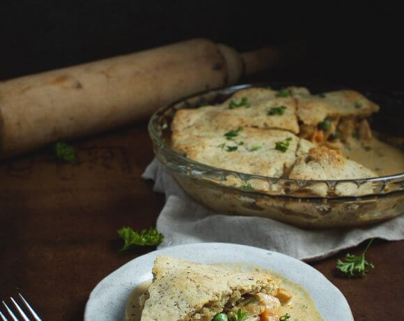 Keto Chicken Pot Pie – Low Carb