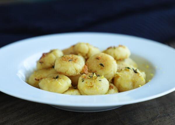 This keto fathead dough gnocchi tastes like real pasta!