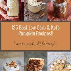 125 Best Keto Pumpkin Recipes - sweet and savory