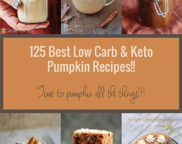 125 Best Keto Pumpkin Recipes – Low Carb