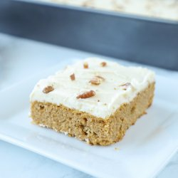 Keto Pumpkin Sheet Cake Low Carb by IBIH