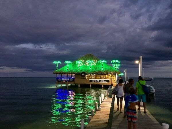 Palapa Bar, Ambergris Caye Belize