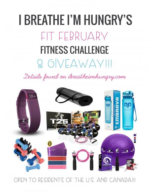 Fit February Challenge and Giveaway
